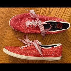 EUC Keds/Taylor Swift Sneakers, Redish